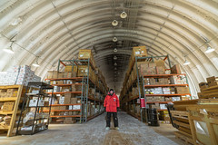 The South Pole Food Logistic Arch
