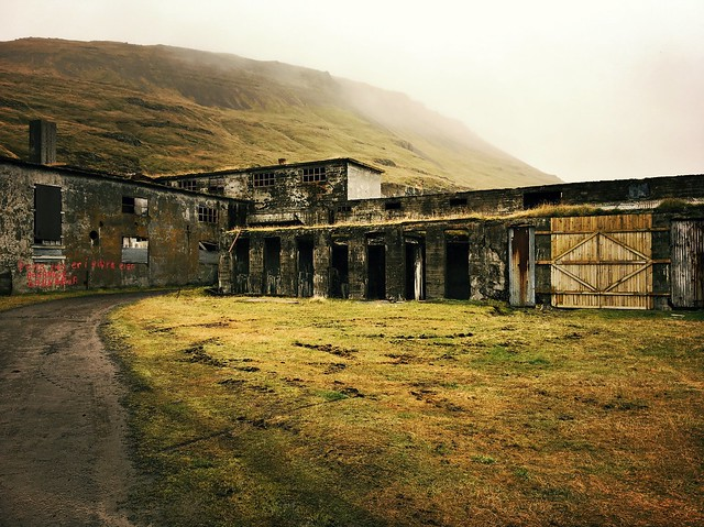 we visited *another* abandoned herring factory at Eryi, although not as enormous as the one at Djupavik