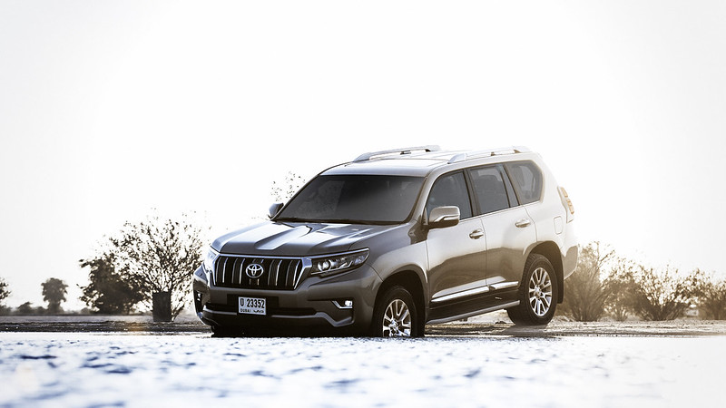 Al Futtaim Launches the all new Prado for 2018 CarbonOctrane 1