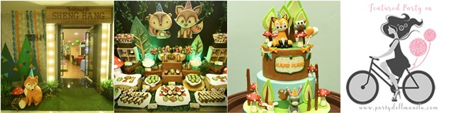 hang woodland theme party cover