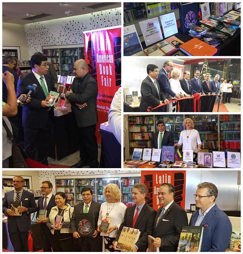 Inauguración de la 1ª Feria del Libro Latinoamericano