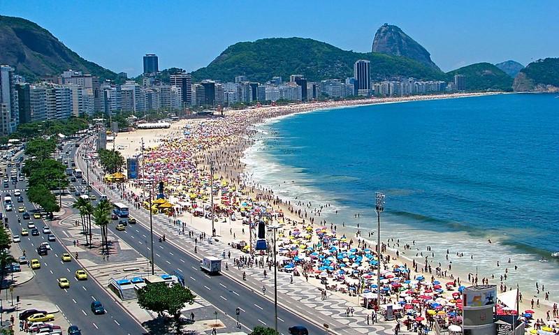 Niteroi located Opposite Rio de Janeiro