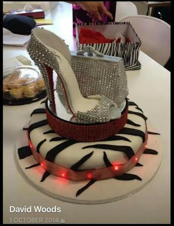 High Heels Cake by mawoods