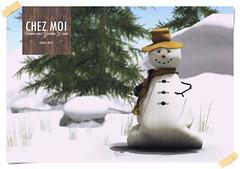 Snowman Sack CHEZ MOI