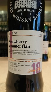 SMWS 5.57 - Strawberry summer flan
