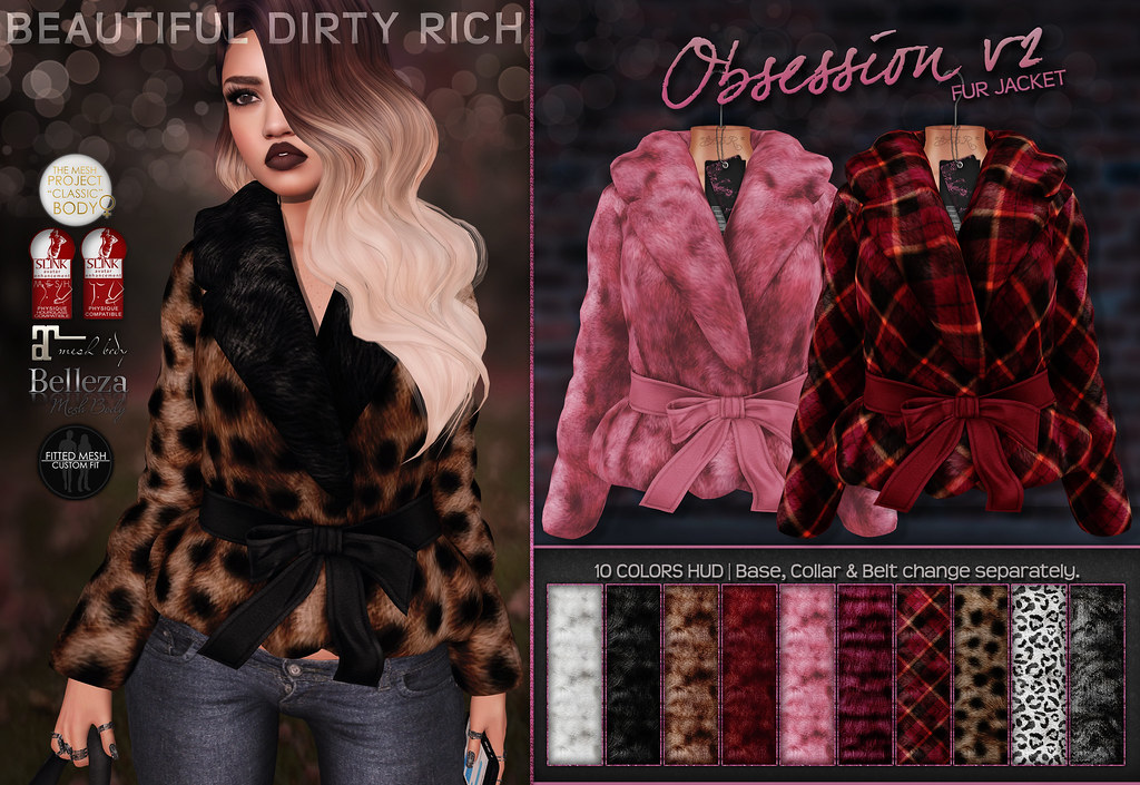 *B.D.R.* Obsession Fur Jacket v2