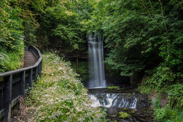 Ireland - Glencar - Waterfall