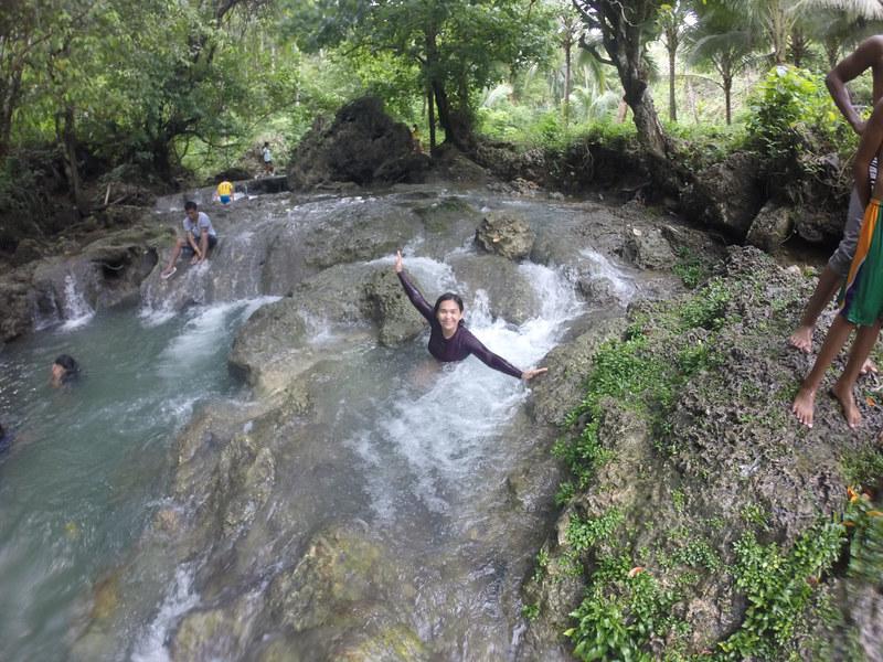 Natural Jacuzzi at Bungan-Bungan Spring