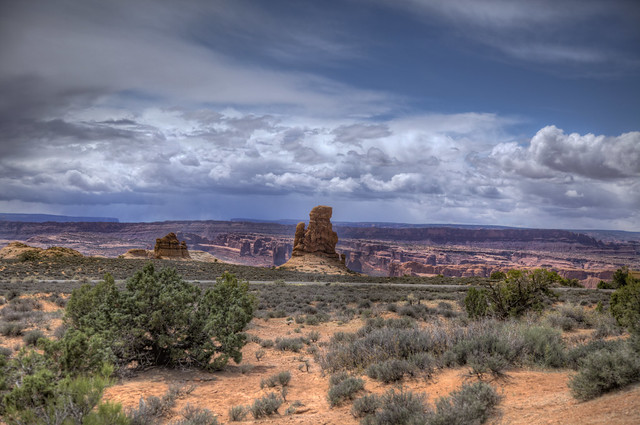 Arches National Park in South Eastern Utah 19