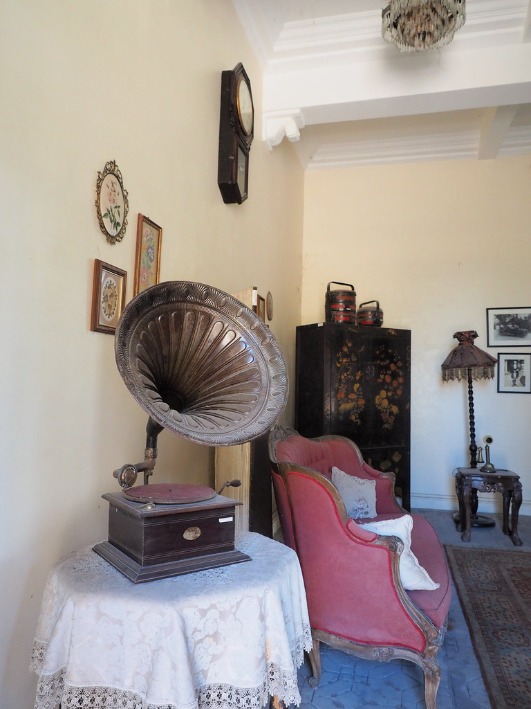 Antique gramophone at Kellie's Castle