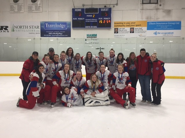 Nov 12, 2017 - Sask BPM - U14AA Red wins Bronze