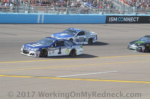 Jamie McMurray and Dale Earnhardt, Jr.