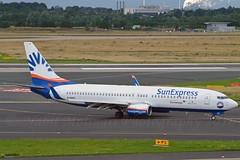 SunExpress > Eurowings D-ASXC Boeing 737-86N Winglets cn/30806-790 @ EDDL / DUS 26-06-2016