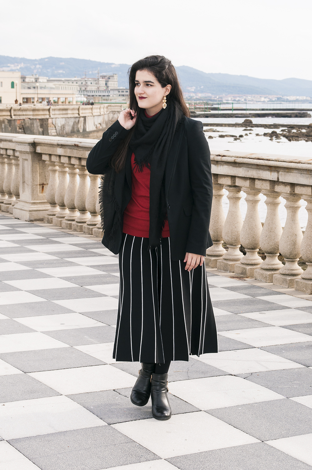 something fashion blogger influencer streetstyle firenze spain italianbloggers erasmus student culotte pants livorno pisa traveling europe_0460 copia
