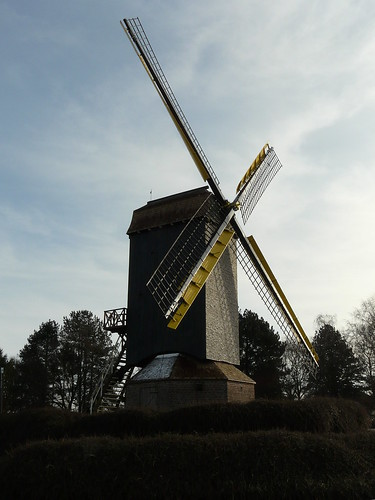 Le moulin à Gits