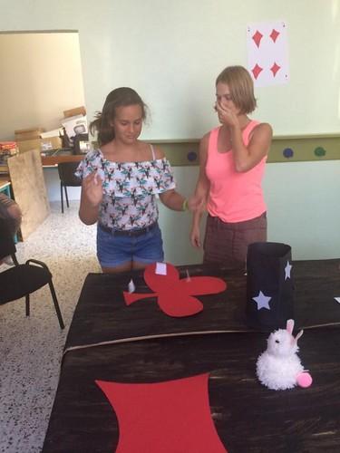 Maison des Jeunes - Eté 2017 - Atelier Magie