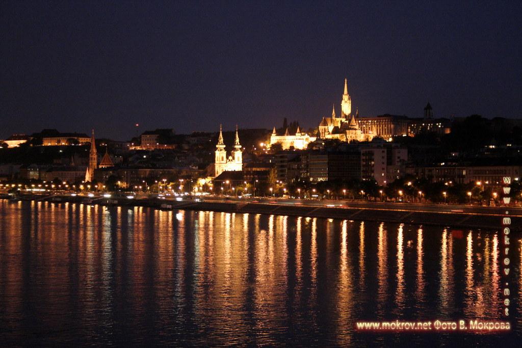 Столица Венгрии - Будапешт пейзажи.
