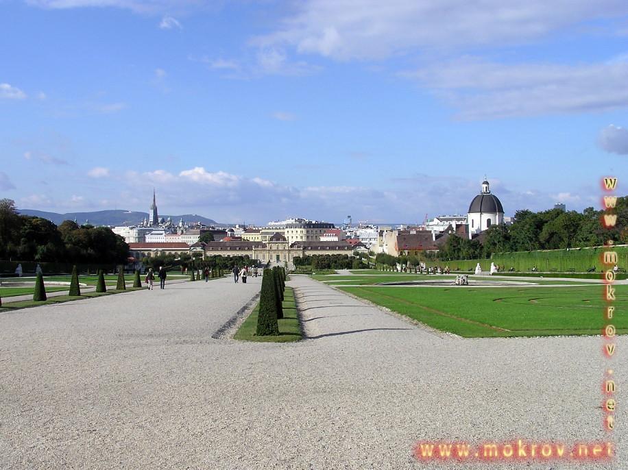 Исторический центр Вены, столица Австрии фотозарисовки