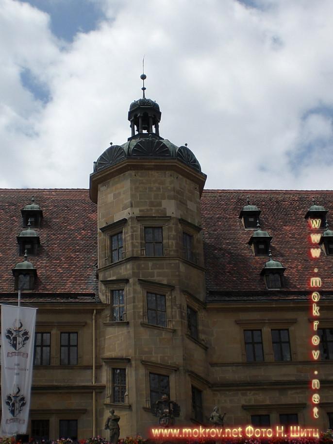 Исторический центр Города Ротенбург и фотограф