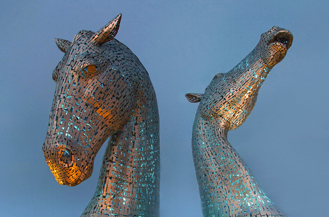 The Kelpies, Falkirk, Scotland #Explored#