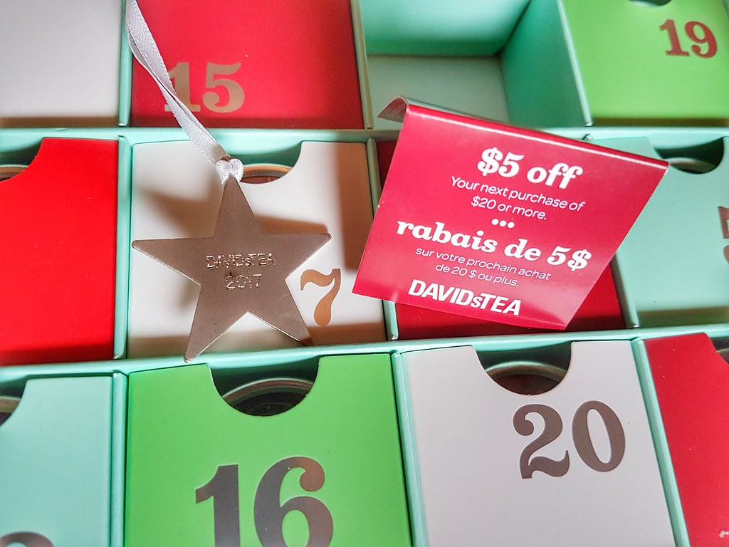 David's Tea Advent Calendar Ornament Coupon