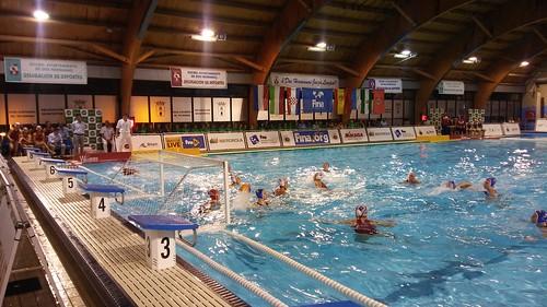 Liga Mundial de Waterpolo femenino Selección Española y Rusa en Montequinto
