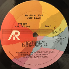 JOHN BLAIR:MYSTICAL SOUL(LABEL SIDE-B)