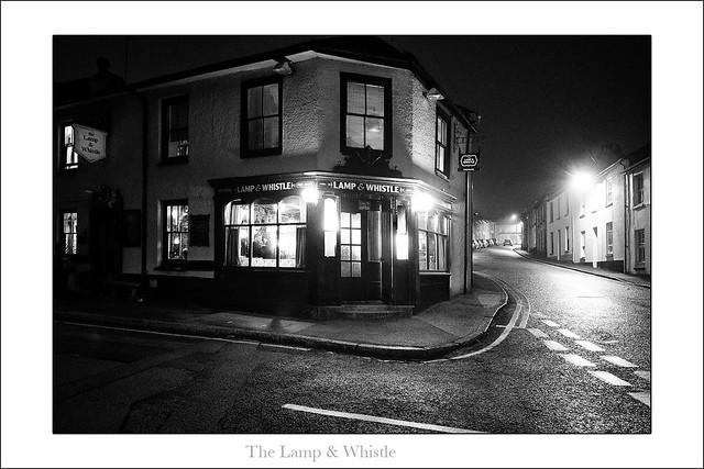 The Lamp & Whistle - Penzance, Cornwall