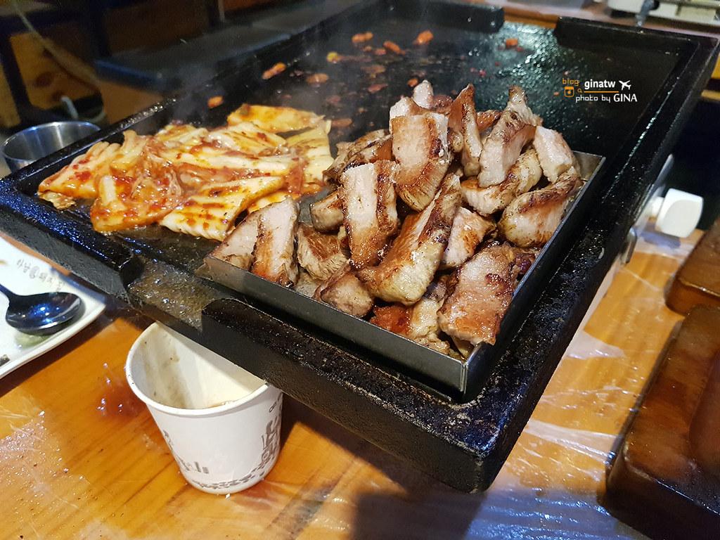 【弘大河南烤肉店】하남張돼지집|Hanampig五花肉|韓國烤肉專營烤豬肉店 弘大分店 (附交通方式、地圖) @GINA環球旅行生活|不會韓文也可以去韓國 🇹🇼