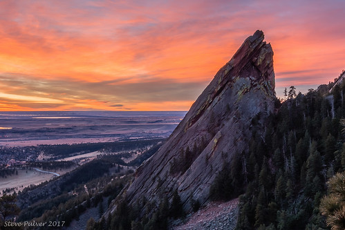 boulder colorado sunrise landscape flatiorns 3rdflatiron hike mountains rockymountains nature canon70d tokina1228