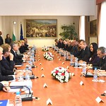 EP President Antonio Tajani and the Conference of Presidents visit Sofia