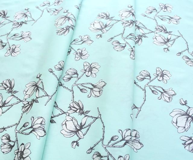 Art Gallery Fabrics Wild Bloom Magnolia Study Fresh