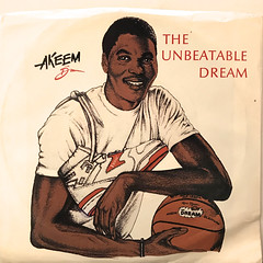 AKEEM THE DREAM:THE UNBEATABLE DREAM(JACKET A)