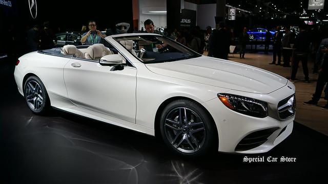2018 Mercedes-Benz S 500 Cabriolet