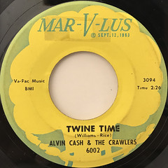 ALVIN CASH & THECRAWLERS:TWINE TIME(LABEL SIDE-A)