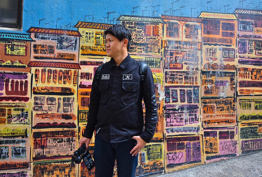 香港景點 舊城中環彩繪牆08
