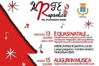 Noicattaro. Eventi L'Arte Rapsodica front