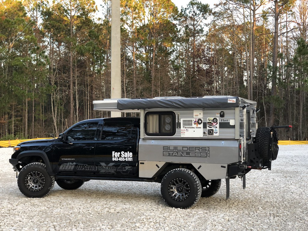 2016 Tacoma with 2017 Four Wheel Camper Fleet   Expedition