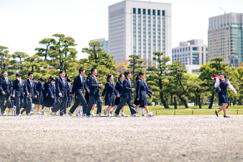 School class excursion