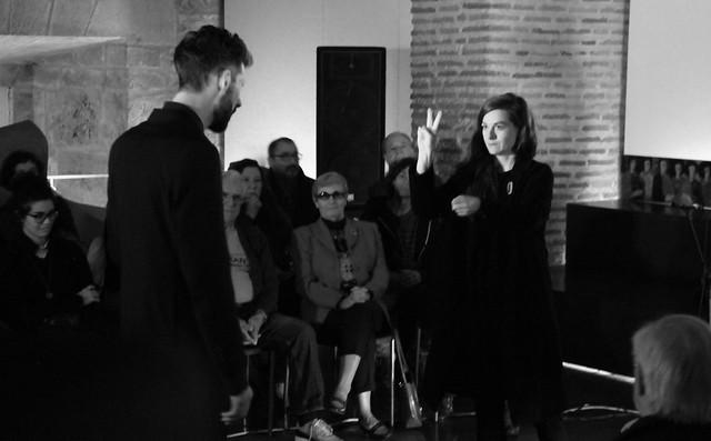 ARCHIPIEL - ÁLVARO BARRIUSO & AINARA LEGARDON - UROGALLO, II FESTIVAL DE POESÍA EXPANDIDA 27.10.17