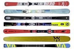 Ako vybrať zjazdové lyže