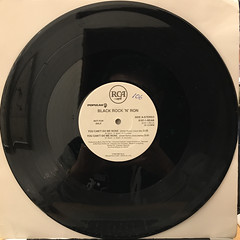 BLACK ROCK & RON:YOU CAN'T DO ME NONE(RECORD SIDE-A)