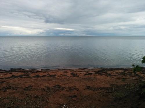 Looking out #pei #princeedwardisland #belfast #campbuchan #scouts #northumberlandstrait #beaches #latergram