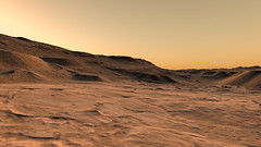 Along the Floor of Coprates Chasma