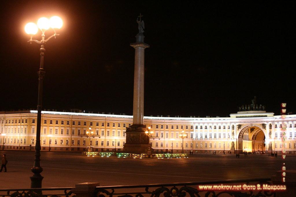 Александрийский столб, Дворцовая площадь.