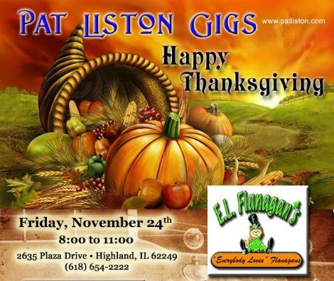 Pat Liston 11-24-17