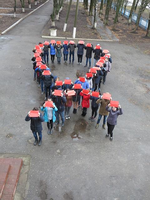 Флешмоб до Дня борьби зі СНІДом