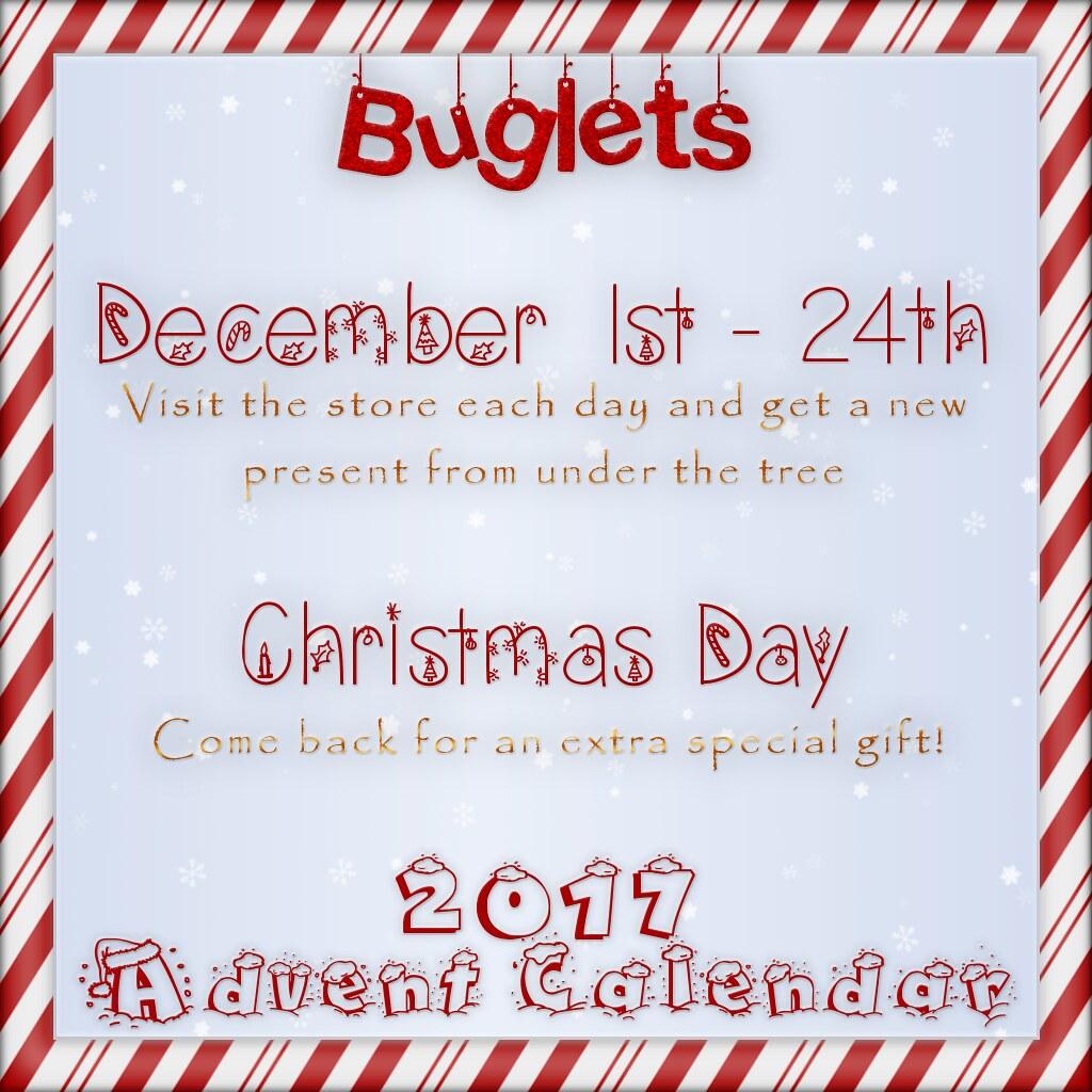 Advent Calendar 2017 Poster
