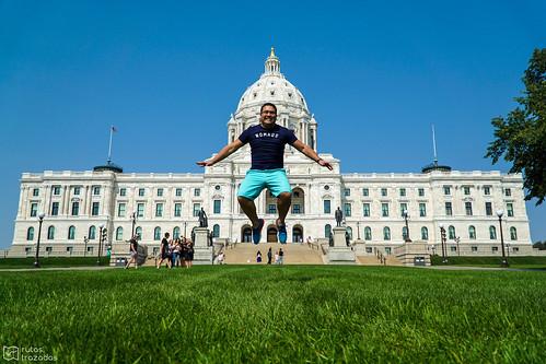 Salto en el Capitolio