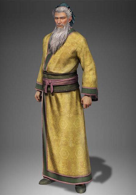 黄忠 平服